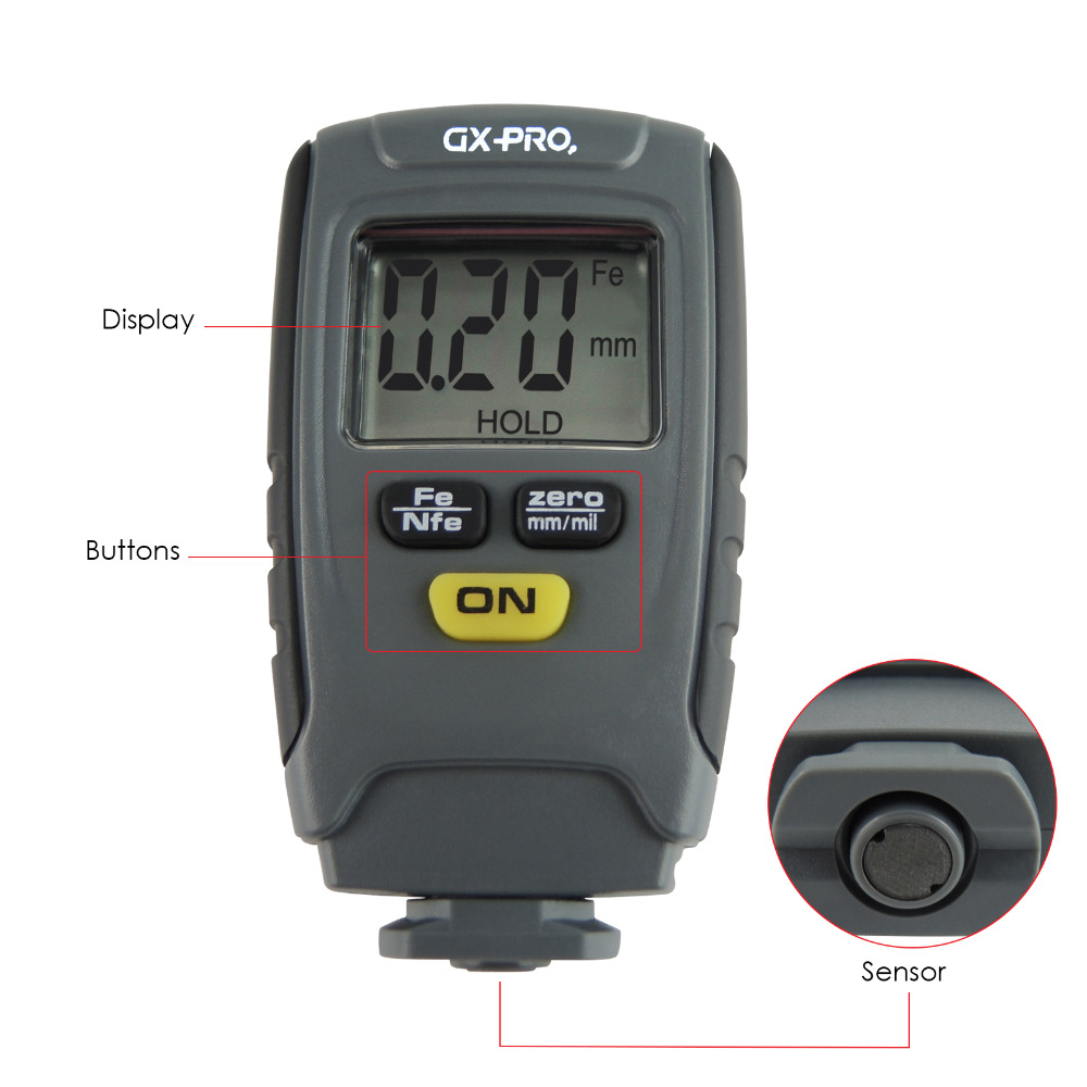 gain-express-gainexpress-coating-thickness-meter-GX-CT01-Parts